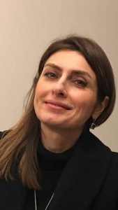 Firouzeh smiling